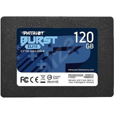 "SSD Patriot Burst Elite - 120 GB, 2.5"", SATA III - НОВО"