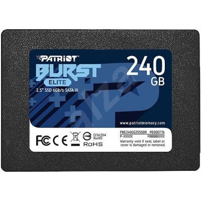 "SSD Patriot Burst Elite - 240 GB, 2.5"", SATA III - НОВО"