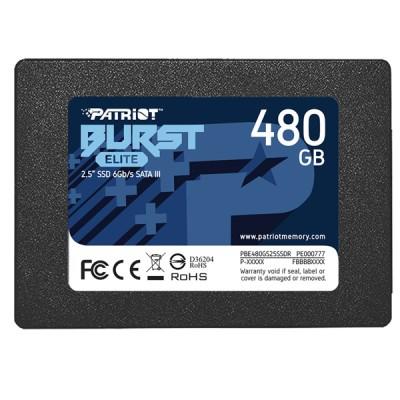 "SSD Patriot Burst Elite - 480 GB, 2.5"", SATA III - НОВО"
