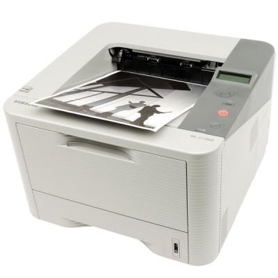 Лазерен принтер с мрежа и дуплекс Samsung ML-3710ND + пълна тонер касета за 10 000 страници